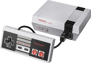 nintendo NES classic video game system gift idea for engineers