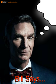 Bill Nye thought bubble quote