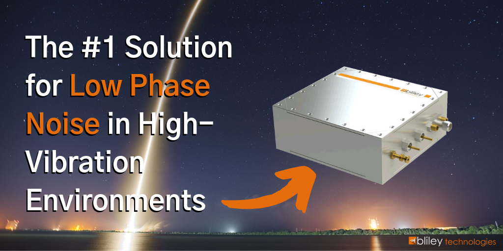 low phase noise solution for high vibration environments ocxo