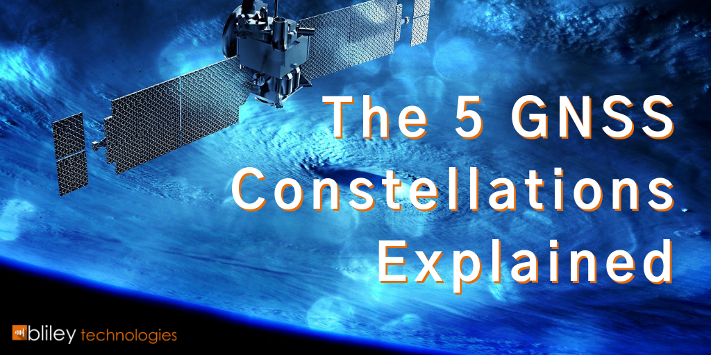 The 5 GNSS Constellations Explained