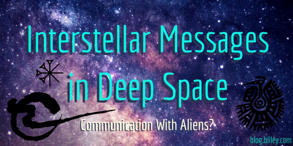 Interstellar Messages in Space