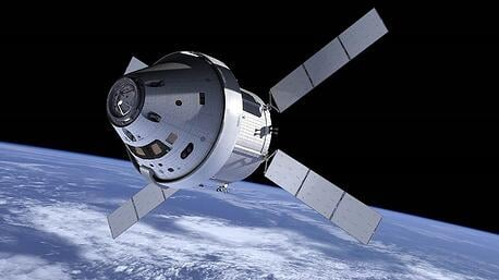 orion spacecraft space radiation