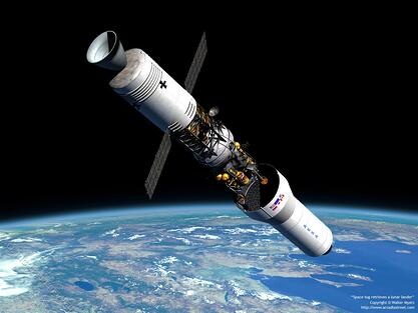 Radio Frequency Communication Satellite RF