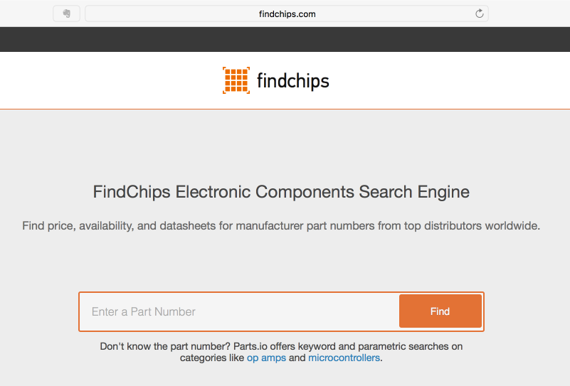 FindChips.com is like Google for RF and Microwave Components