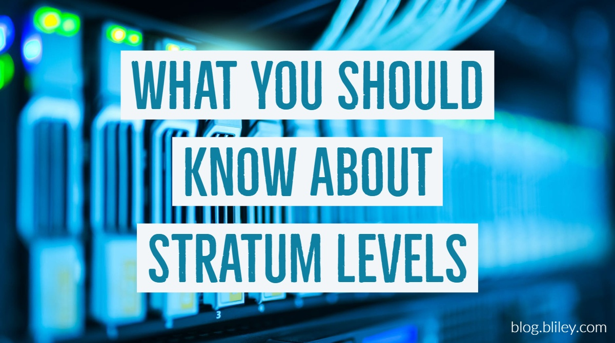 What You should know about stratum levels graphic