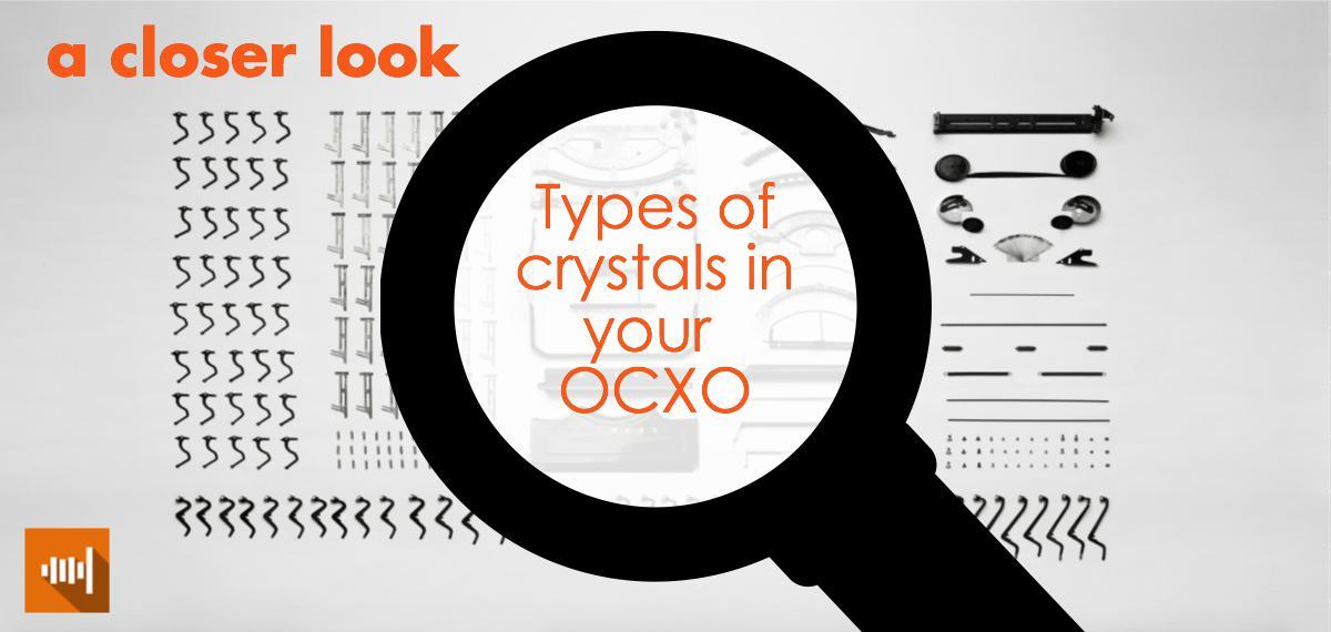 Types of crystal cuts inside of crystal oscillators