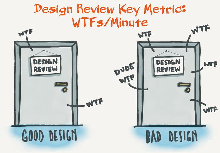 design review good design vs bad design