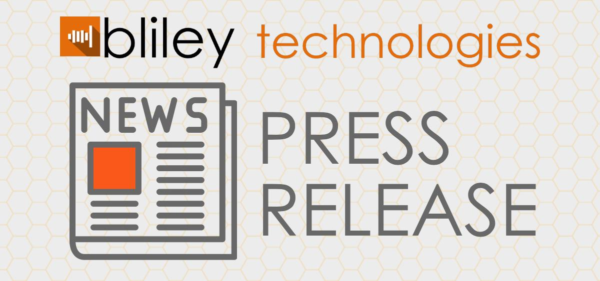 Bliley Press Release