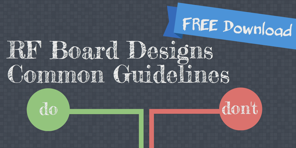 Download FREE RF Design Guidelines
